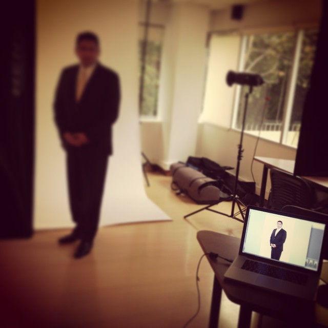 Sesión de fotos con nuestro nuevo cliente Estée Lauder #tacoalto #diseño