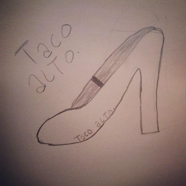Hoy la hija de @marco_nunez nos envió un dibujo de regalo! #desdelosojosdeunniño #tacoalto #diseño