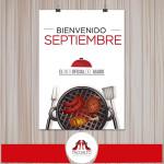 Bienvenido Septiembre! Mes oficial del asado y del carrete Diseohellip